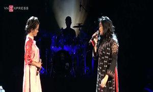 Hồng Nhung, Thanh Lam hòa quyện trên sân khấu