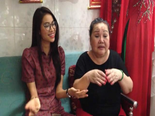 NSND Ngọc Giàu dạy Phạm Hương hát 'Dạ cổ hoài lang'