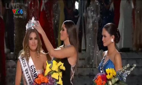 Colombia tuột vương miện Miss Universe vì sự nhầm lẫn của MC