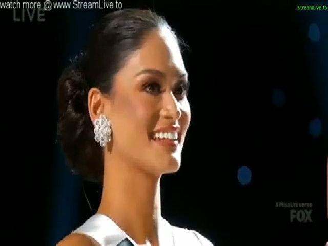 Khoảnh khắc Pia Wurtzbach đăng quang Miss Universe 2015