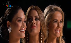 Top 3 Miss Universe 2015 thi ứng xử
