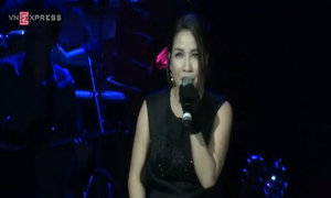 Mỹ Linh hát Tóc Ngắn