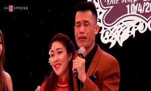 Diễn viên hài Hiệp Gà rơi nước mắt trong ngày cưới