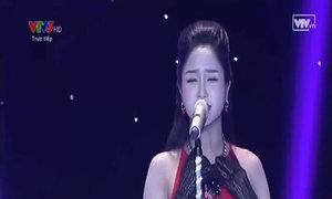 Phương Anh hát 'Tình yêu đến từ trong giã từ'