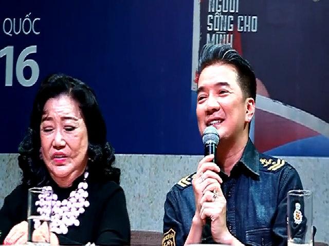 Đàm Vĩnh Hưng bày tỏ tình cảm với NSND Kim Cương