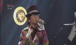 Thiên Tùng hát 'Beat it - They don't care about us'