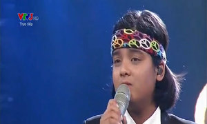 Jayden hát 'We are the world'