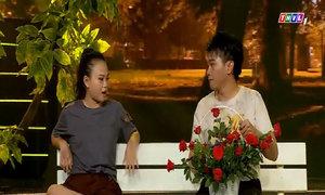 Linh Tý diễn kịch câm trong tiểu phẩm 'Đứa bé'