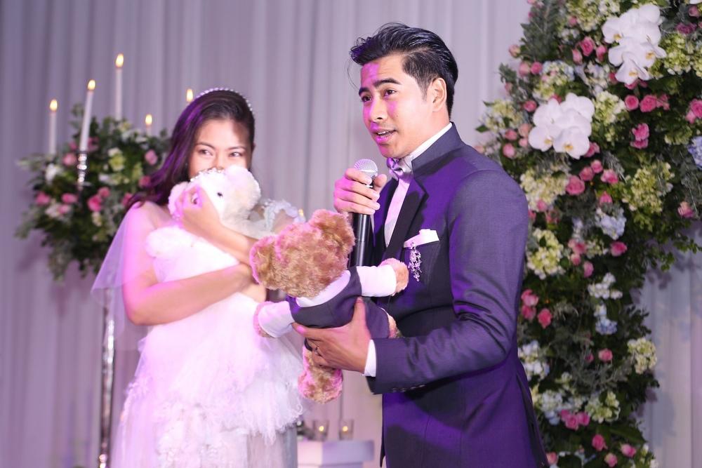 Thanh Bình -  Ngọc Lan hạnh phúc trong ngày cưới