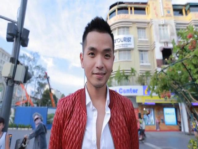 Phạm Hồng Phước nhảy flashmob trên phố đi bộ