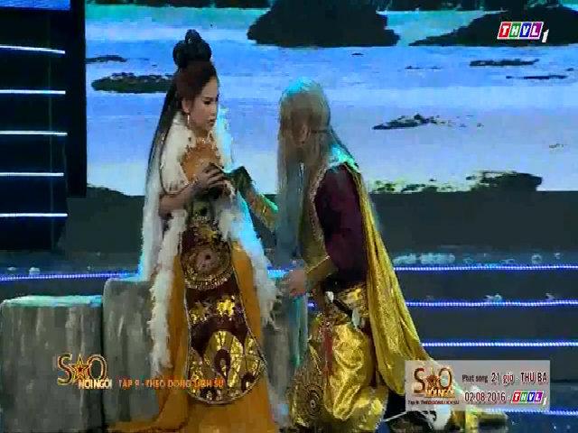 Bình Tinh vào vai Mỵ Châu để tưởng nhớ cha ruột Đức Lợi