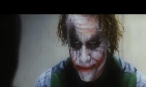 "Heath Ledger hóa Joker trong ""The Dark Knight"""