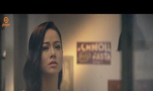 Nhật Kim Anh hôn trai Tây trong MV