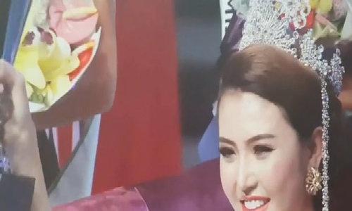 Khoảnh khắc Ngọc Duyên đăng quang Miss Global Beauty Queen 2016