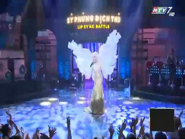 Trấn Thành hát nhép ca khúc 'I believe I can fly'
