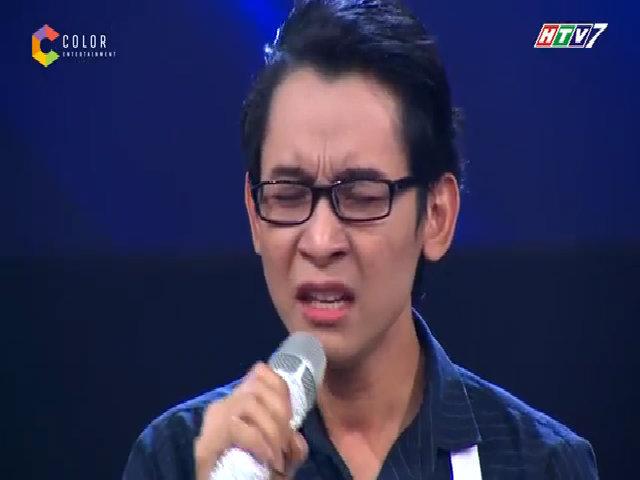 Thí sinh Duy Thuận thể hiện khả năng hát giọng cao