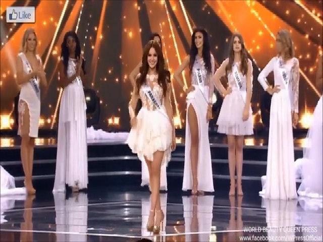 Khoảnh khắc nhầm lẫn hài hước tại Hoa hậu Siêu quốc gia 2016