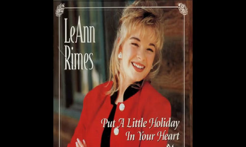 'Put A Little Holiday In Your Heart' - LeAnn Rimes