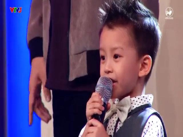 Bé Nguyên Hoàng song ca cùng Cẩm Ly 'Duyên phận'