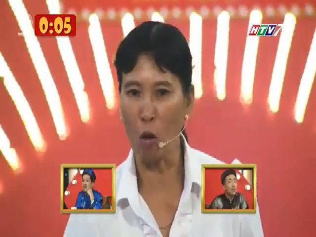 Trấn Thành bất ngờ vì chị nhà nông tháo răng giả diễn hài
