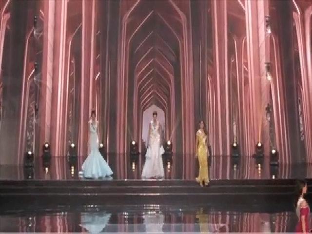 Miss Universe Pháp dự thi với thiết kế của Hoàng Hải