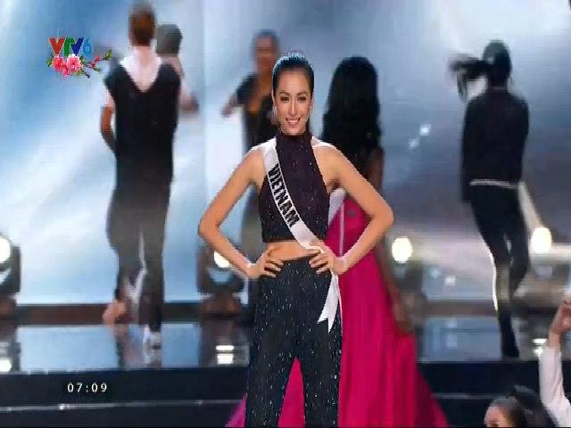 Đại diện của Việt Nam, Lệ Hằng trong đêm chung kết Hoa hậu Hoàn vũ 2016