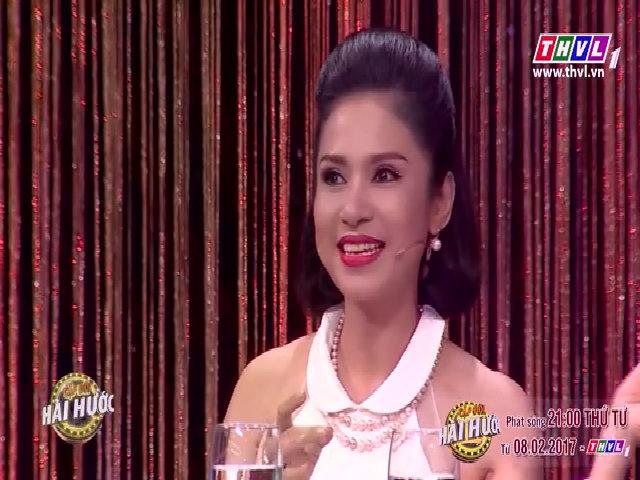 Việt Trinh đề nghị Lý Hùng hôn mình trên ghế 'nóng'