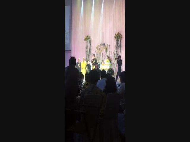 Đàm Vĩnh Hưng tự sáng tác bài thơ mừng hôn lễ của em gái