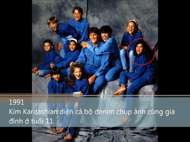 25 năm 'lột xác' của Kim Kardashian