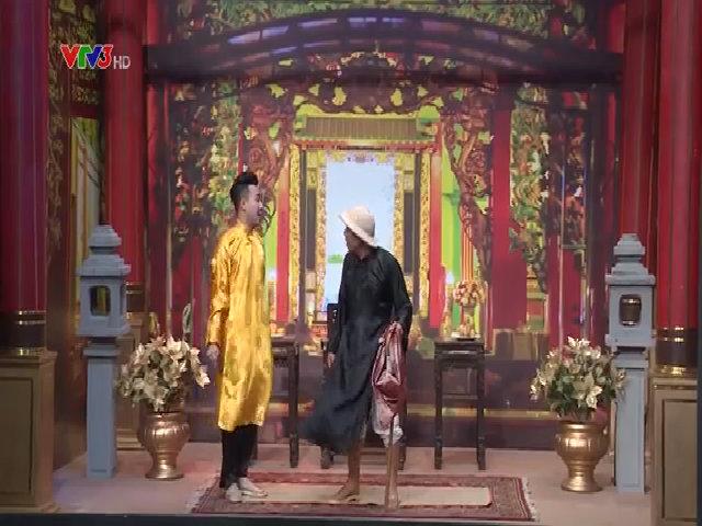 Hoài Linh lần đầu diễn chung Trung Dân trên sân khấu lớn