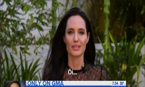 Angelina Jolie tin Brad Pitt vẫn là người tuyệt vời