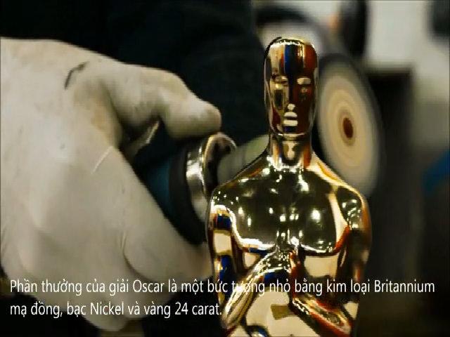 Tượng vàng Oscar được làm thế nào
