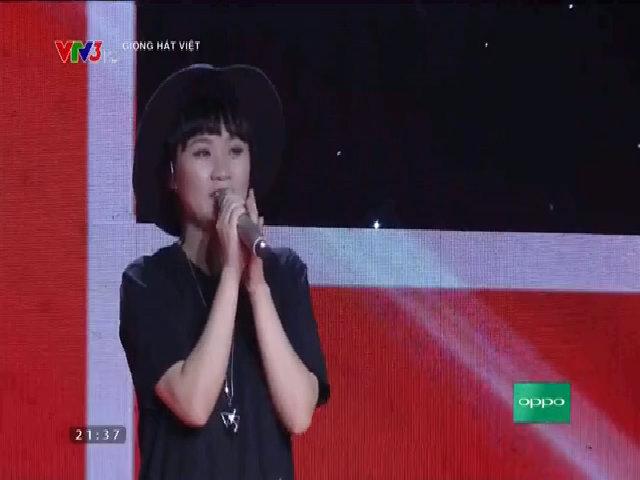 Hoàng Mỹ Linh hát 'Love on top'