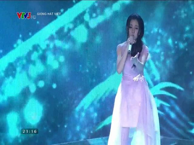 Trần Thị Huyền Dung hát 'Gửi người yêu cũ'