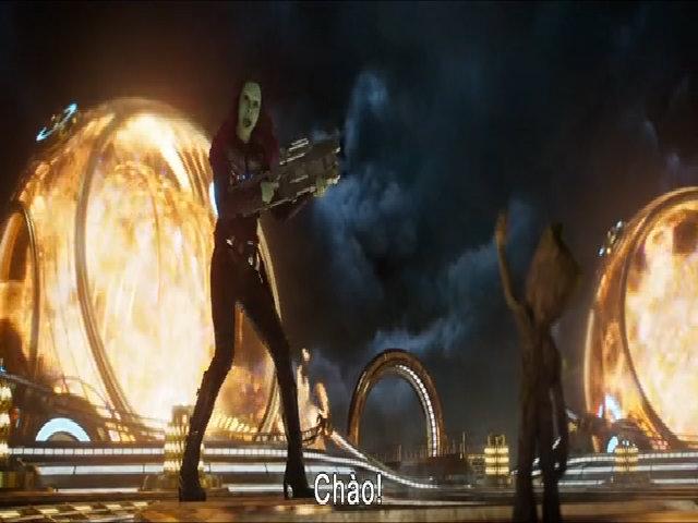 Bố lãnh chúa Star-Lord lộ diện trong 'Guardians of The Galaxy 2'