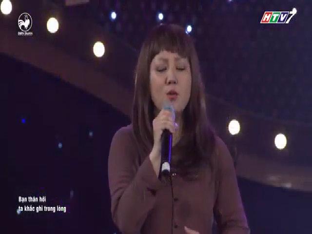Ca sĩ Ngọc Linh bật khóc khi tái xuất trong game show