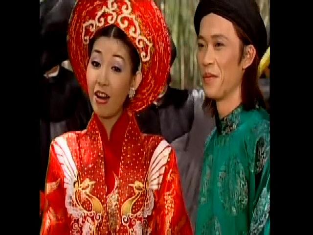 Hoài Linh, Hà My hát 'Làm dâu miệt vườn'