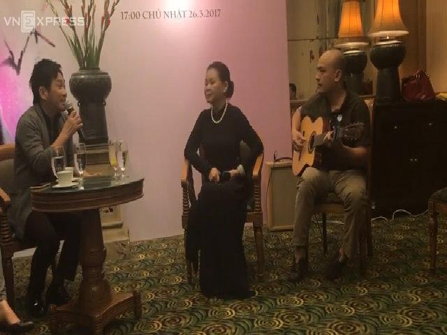 Khánh Ly song ca cùng Quang Thành