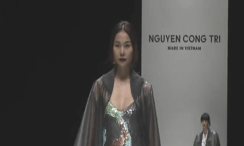 Em Hoa của Công Trí xuất hiện trên Vogue