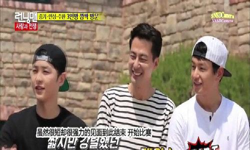 Jo In Sung, Song Jong Ki và Im Joo Hwan bất ngờ đến thăm Kwang Soo