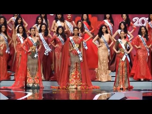 Hoa hậu Indonesia bị trao nhầm ngôi Á hậu 2