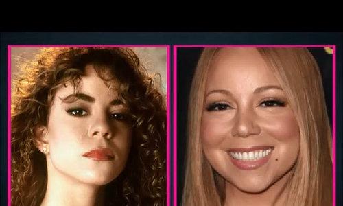 Thay đổi gương mặt Mariah Carey