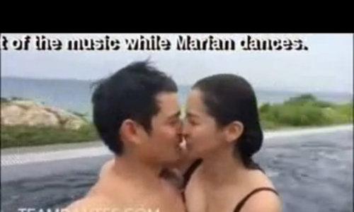Khoảnh khắc mặn nồng của vợ chồng Marian Rivera