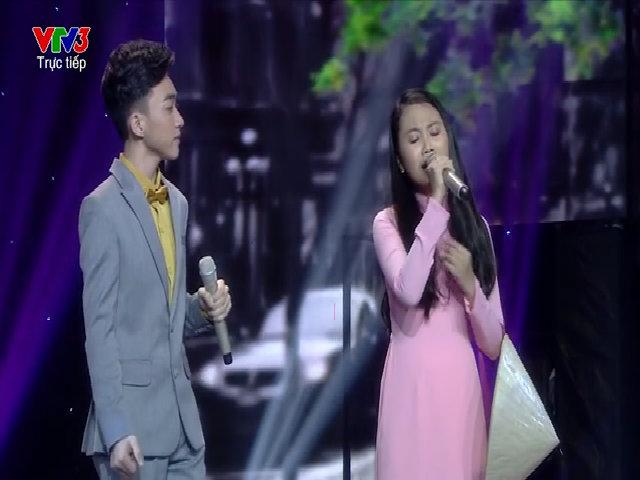 Trung Quang và Phương Mỹ Chi hát 'Con đường xưa em đi'