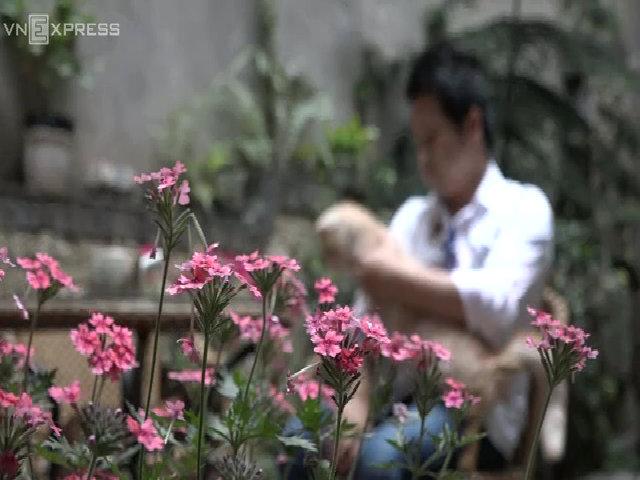 Cuộc sống nhà vườn 120 mét vuông giữa phố của Trọng Tấn