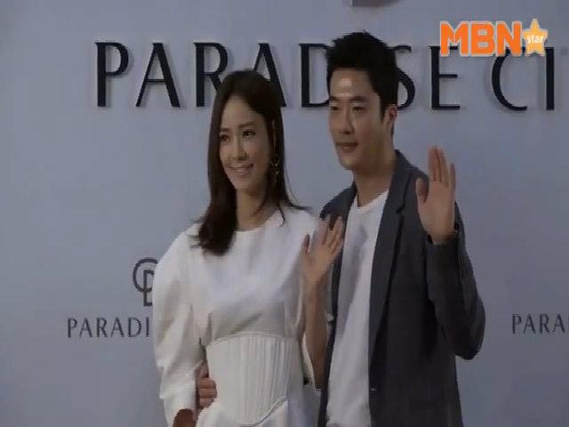 Kwon Sang Woo đưa vợ dự sự kiện