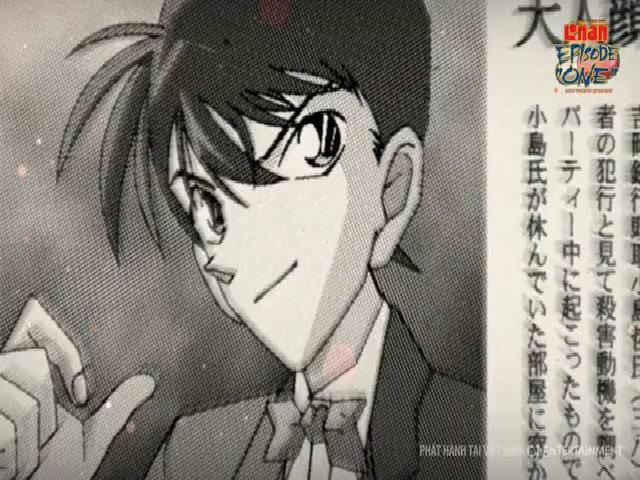 """Ngày Shinichi bị thu nhỏ được tái hiện trong Conan - Episode """"One"""""""