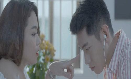 Thái Trinh và Quang Đăng tình tứ trong MV