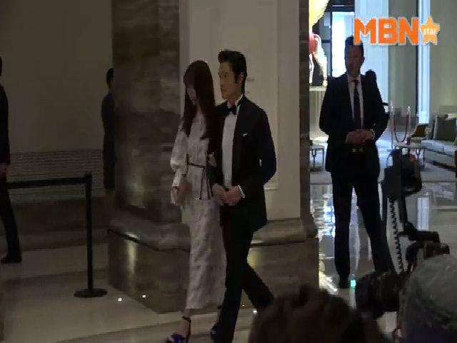 Vợ chồng Lee Byung Hun dự sự kiện