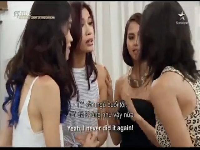 Đại diện Việt Nam lớn tiếng quát nạt thí sinh Indonesia ở Asia's Next Top Model